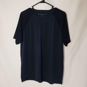 JOHN VARVATOS Crewneck navy tee shirt size L
